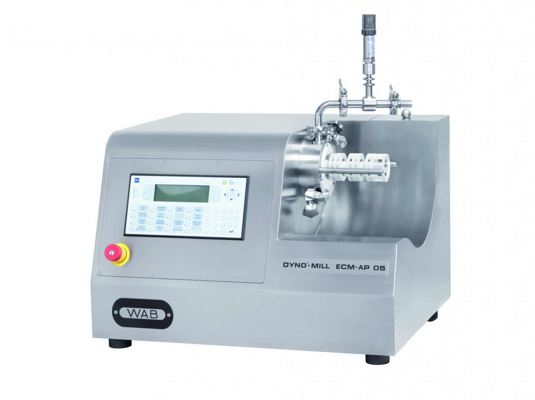 DYNO-MILL Agitator Bead Mills for the Pharmaceutical industry